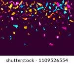 pink cyan blue yellow foil... | Shutterstock .eps vector #1109526554