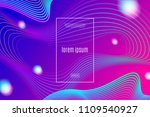 abstract vector background with ... | Shutterstock .eps vector #1109540927