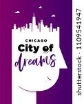 Creative Chicago City Poster...