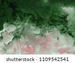 acrylic colors in water.... | Shutterstock . vector #1109542541