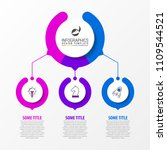 infographic design template.... | Shutterstock .eps vector #1109544521