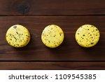 macaroon cookies with drops of... | Shutterstock . vector #1109545385