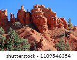 bryce canyon national park ... | Shutterstock . vector #1109546354