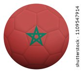 realistic isolated 3d soccer... | Shutterstock .eps vector #1109547914