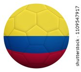 realistic isolated 3d soccer...   Shutterstock .eps vector #1109547917