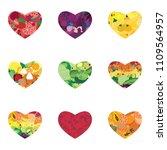vector illustration of fruits...   Shutterstock .eps vector #1109564957