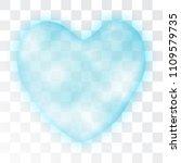 cloud heart realistic 3d vector ...   Shutterstock .eps vector #1109579735