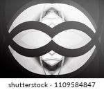 double exposure photo of window.... | Shutterstock . vector #1109584847
