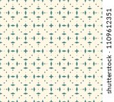 seamless pattern with... | Shutterstock .eps vector #1109612351