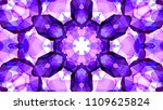 geometric design  mosaic of a... | Shutterstock .eps vector #1109625824