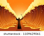 biblical and religion vector... | Shutterstock .eps vector #1109629061