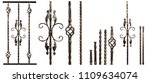 samples of forged products... | Shutterstock . vector #1109634074