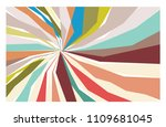 abstract background vector with ... | Shutterstock .eps vector #1109681045