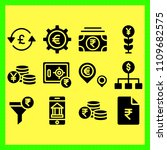 business icons set of funds ... | Shutterstock .eps vector #1109682575