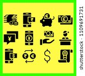 business icons set of... | Shutterstock .eps vector #1109691731