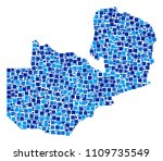 zambia map composition of... | Shutterstock .eps vector #1109735549