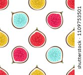 seamless pattern with abstract... | Shutterstock .eps vector #1109753501