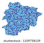 andorra map composition of... | Shutterstock .eps vector #1109758139