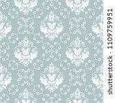 classic seamless vector pattern.... | Shutterstock .eps vector #1109759951