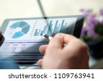 business man working and...   Shutterstock . vector #1109763941