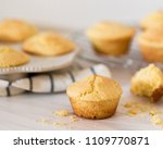 Stock photo homemade cornbread detail 1109770871