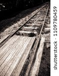 decommissioned railway line... | Shutterstock . vector #1109780459