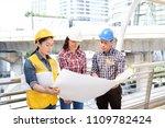 multiethnic diverse team of...   Shutterstock . vector #1109782424