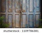 wood door old vintage texture... | Shutterstock . vector #1109786381