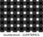ornament with elements of black ... | Shutterstock . vector #1109789921
