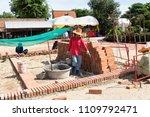 ayutthaya  thailand   june 3 ... | Shutterstock . vector #1109792471