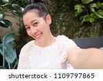 selfie asian woman  self...   Shutterstock . vector #1109797865