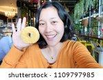 selfie asian woman  self...   Shutterstock . vector #1109797985
