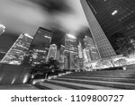 midtown of hong kong city at...   Shutterstock . vector #1109800727