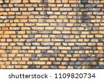 old grunge brick wall background | Shutterstock . vector #1109820734