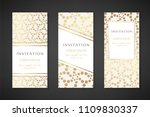 illustration with dotted... | Shutterstock .eps vector #1109830337