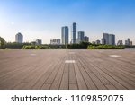 panoramic skyline and buildings ... | Shutterstock . vector #1109852075