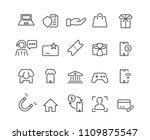 marketing and business set...   Shutterstock .eps vector #1109875547