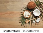 flat lay composition with... | Shutterstock . vector #1109883941