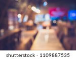 vintage tone blur image of... | Shutterstock . vector #1109887535