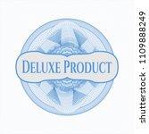 light blue rosette. linear... | Shutterstock .eps vector #1109888249