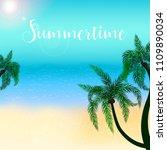 summertime vector illustration...   Shutterstock .eps vector #1109890034