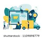vector illustration  flat style ... | Shutterstock .eps vector #1109898779