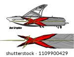 boat decal graphic vector for...   Shutterstock .eps vector #1109900429