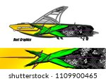 boat decal graphic vector for...   Shutterstock .eps vector #1109900465