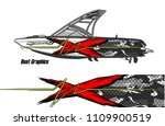 boat decal graphic vector for...   Shutterstock .eps vector #1109900519