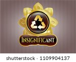 shiny emblem with recycle icon ... | Shutterstock .eps vector #1109904137