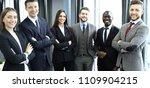 group of businesspeople... | Shutterstock . vector #1109904215