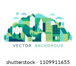 vector illustration in simple... | Shutterstock .eps vector #1109911655