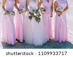 close up of bride and... | Shutterstock . vector #1109933717