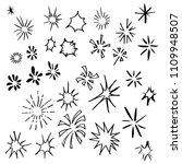 hand drawn sketch doodle vector ... | Shutterstock .eps vector #1109948507